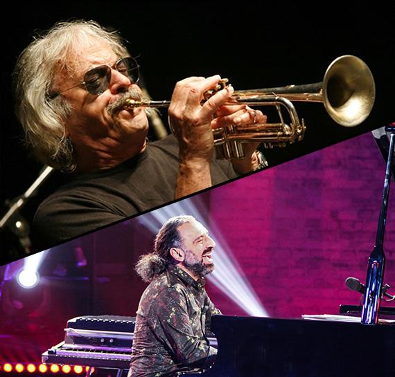 Due grandi concerti in una sola serata: Enrico Rava e Stefano Bollani